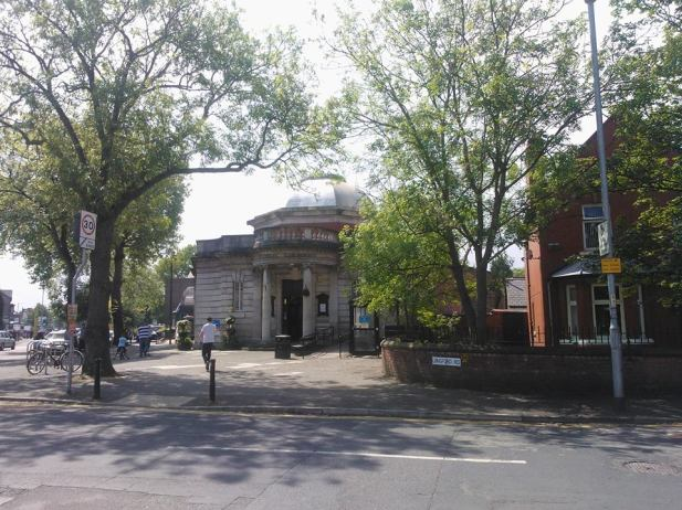Chorlton central library